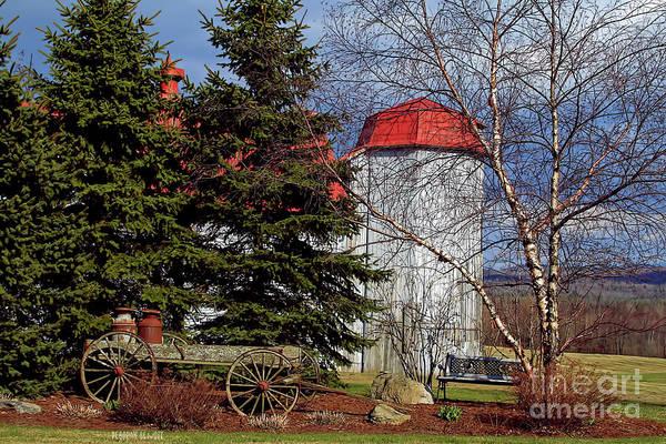 Photograph - Scene In Vermont by Deborah Benoit