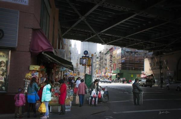 Wall Art - Photograph - Scene Under The Manhattan Bridge by Madeline Ellis