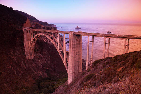 Wall Art - Photograph - Scenic Bixby Bridge South Of Carmel by Stuart Westmorland