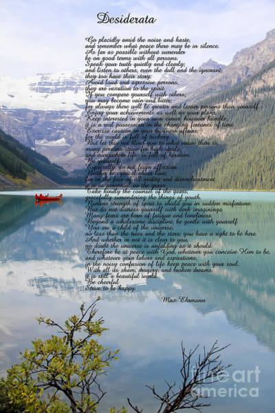 Rockies Digital Art - Scenic Desiderata by Teresa Zieba