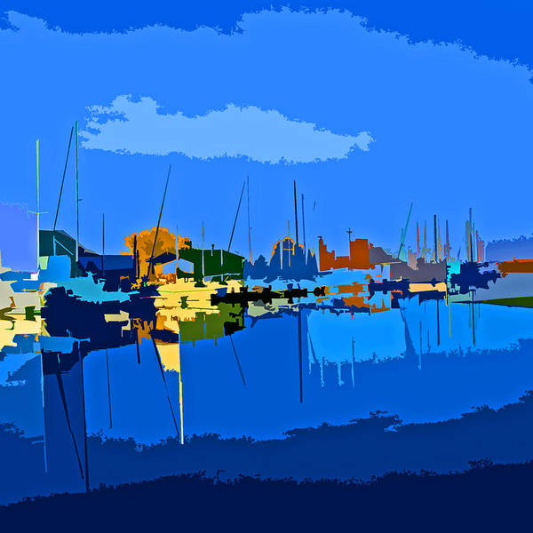 Digital Art - Scenic Isleton Delta Loop by Joseph Coulombe