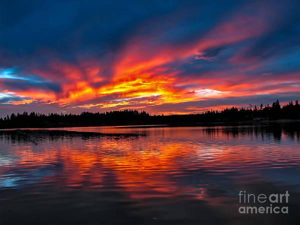 Wall Art - Photograph - Scenic Marine Sunrise by Robert Bales