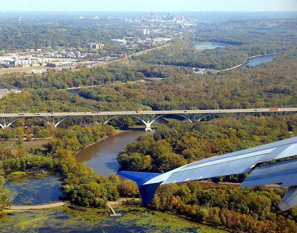 Delta Wing Photograph - Scenic Minnesota 4 by Will Borden