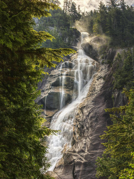 Shannon Falls Wall Art - Photograph - Scenic Of Shannon Fallsbritish Columbia by Robert Postma