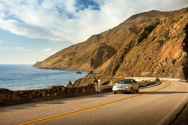 Surf City Usa Photograph - Scenic Road On The Big Sur, Coastline by Pgiam