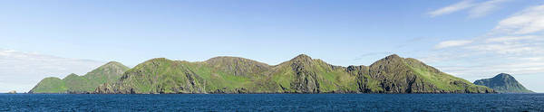 Gulf Of Alaska Photograph - Scenic View Of Barren Islands by Panoramic Images