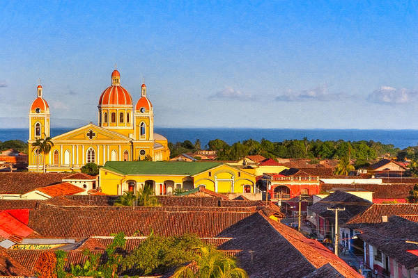 Wall Art - Photograph - Scenic View Of Lake Nicaragua - Granada by Mark Tisdale