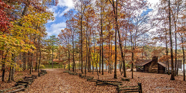 Photograph - Scenic View Of Oconee State Park by Mike Covington