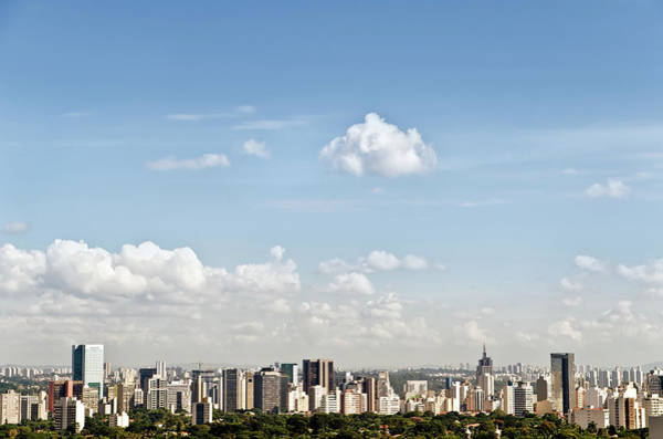 Contrasts Photograph - Scenic View Of The Paolo Skyline by Eduleite
