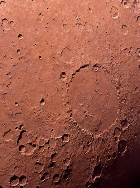 Deposit Photograph - Schiaparelli Crater by Detlev Van Ravenswaay