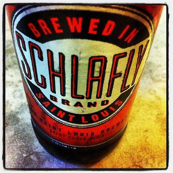 Beer Wall Art - Photograph - #schlafly #stlouis #paleale #beer by Dee Fry
