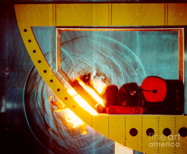 Blast Wave Wall Art - Photograph - Schlieren Image Of Explosion 3 Of 6 by Gary S. Settles