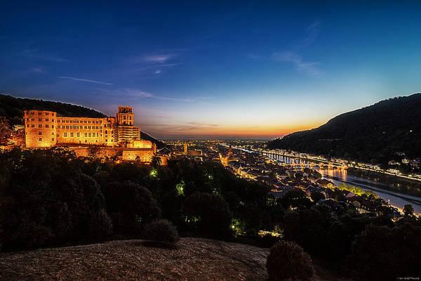 Photograph - Schloss Heidelberg by Ryan Wyckoff