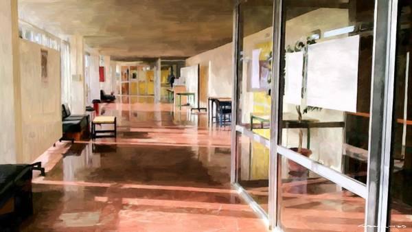 Digital Art - School Closed For Summer Holidays by Gabriel T Toro