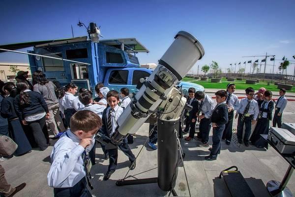 Outing Photograph - School Sun Observation Program by Babak Tafreshi