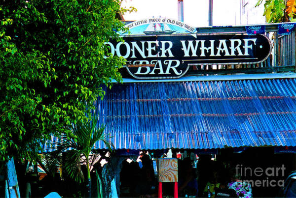 Photograph - Schooner Wharf Bar In Key West Florida by Susanne Van Hulst