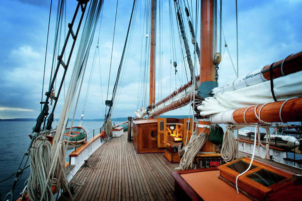 Port Townsend Photograph - Schooner Zodiac by Edmund Lowe Photography