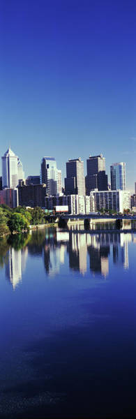 Wall Art - Photograph - Schuylkill River With Skyscrapers by Panoramic Images