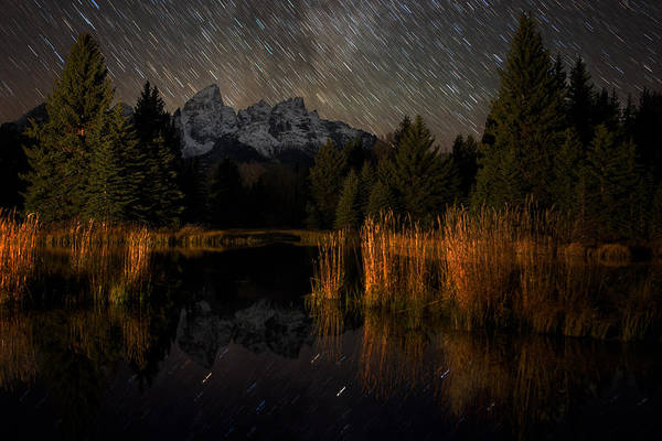 Schwabacher Photograph - Schwabacher Starry Night by Mike Berenson