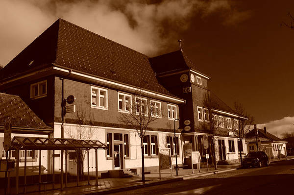 Photograph - Schwarzwald Bahnhof by Miguel Winterpacht