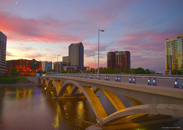 Photograph - Scioto Morning 50526 by Brian Gryphon