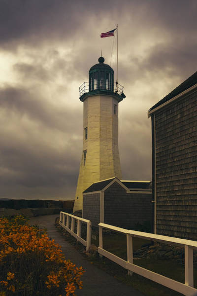 Photograph - Scituate Light by Joan Carroll