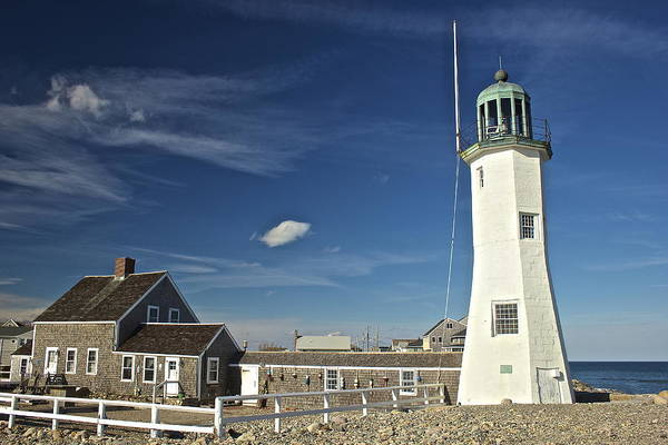 Photograph - Scituate Light Keeper by Amazing Jules