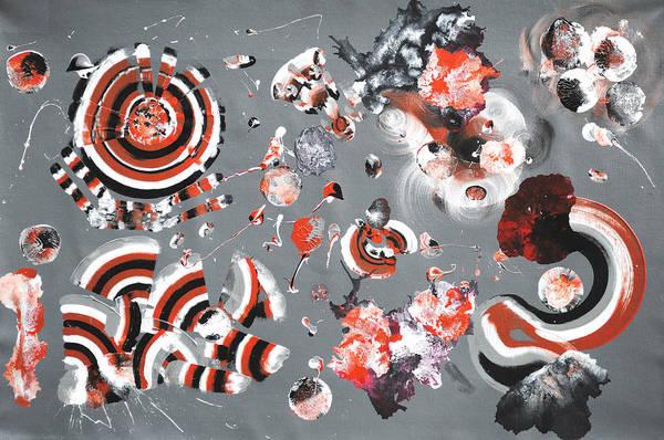 Fluid Acrylic Painting - Scoop Series No. 6 by Sumit Mehndiratta