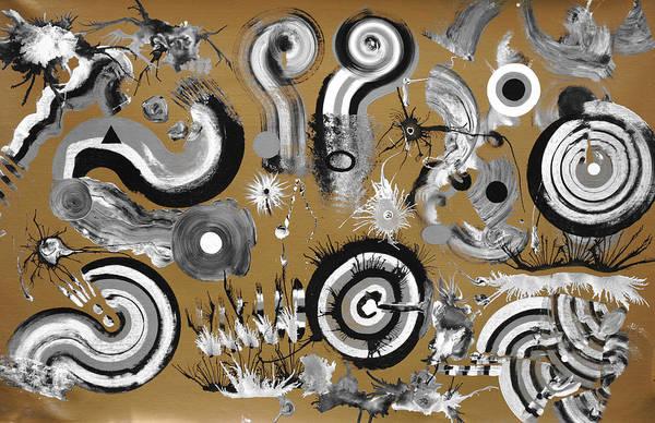 Fluid Acrylic Painting - Scoop Series No.4 by Sumit Mehndiratta