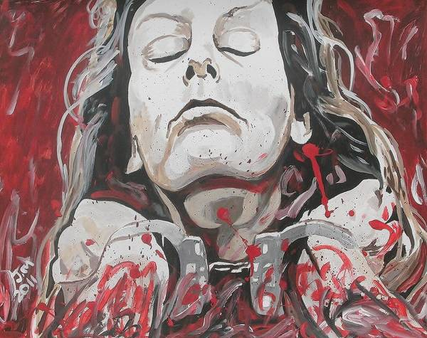 Serial Killer Painting - Scorned by Jeremy Moore