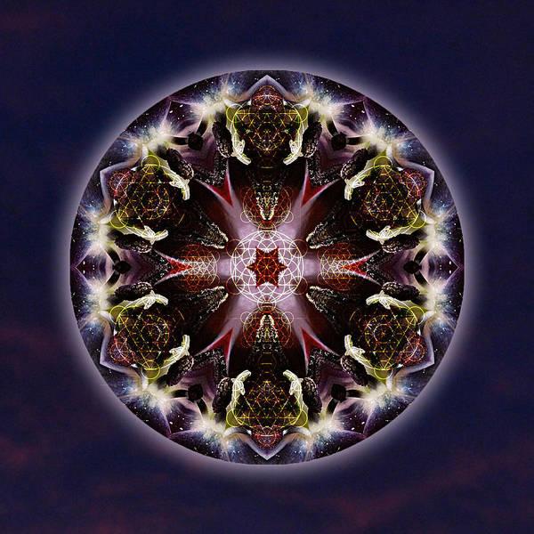 Sacred Heart Mixed Media - Scorpio Moon Warrior by Alicia Kent