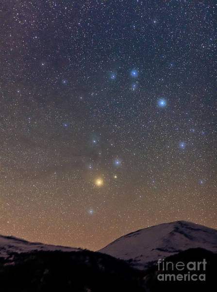Photograph - Scorpius Above The Alps by Babak Tafreshi
