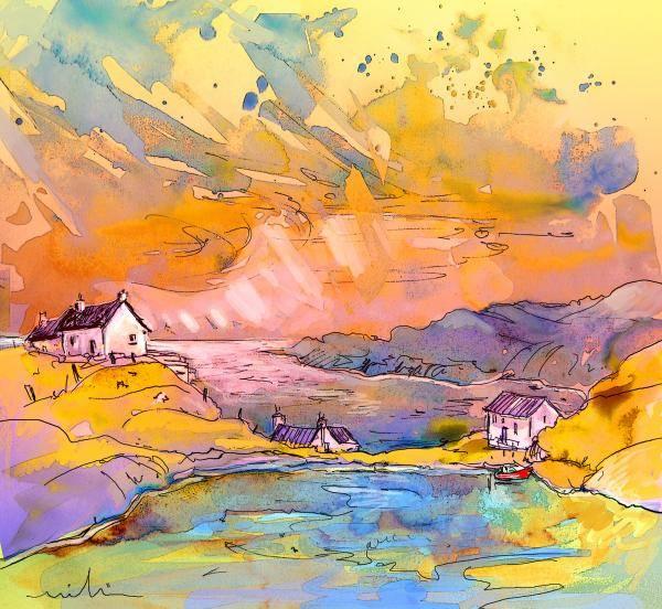 Wall Art - Painting - Scotland 27 Bis by Miki De Goodaboom