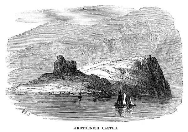 Wall Art - Painting - Scotland Ardtornish by Granger