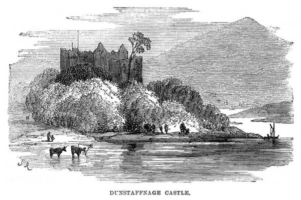 Wall Art - Painting - Scotland Castle, 1871 by Granger
