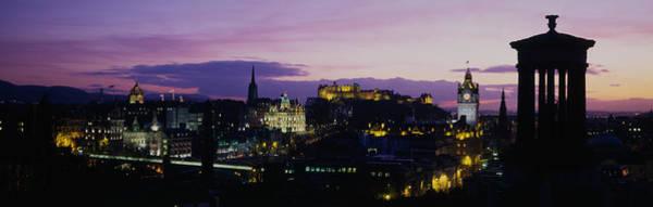 Wall Art - Photograph - Scotland, Edinburgh Castle by Panoramic Images