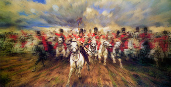Snuggle Painting - Scotland Forever During The Napoleonic Wars by Doc Braham