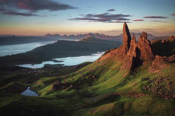 Rock Formation Photograph - Scotland - Old Man Of Storr by Jean Claude Castor