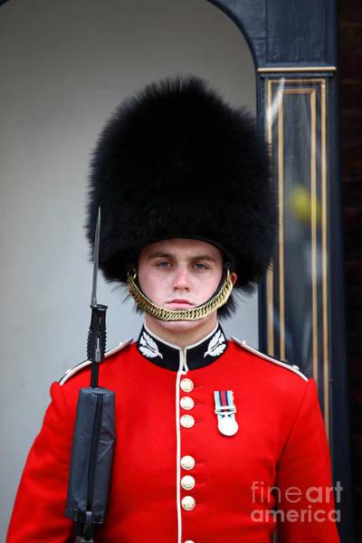 Photograph - Scots Guard London by James Brunker