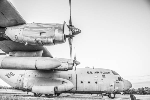 Army Air Corps Photograph - Scott Air Force Base Airplane World War Two by David Haskett II