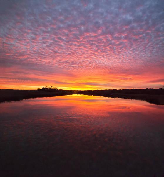 Photograph - Scott Creek Sunset Panorama 03 by Jim Dollar