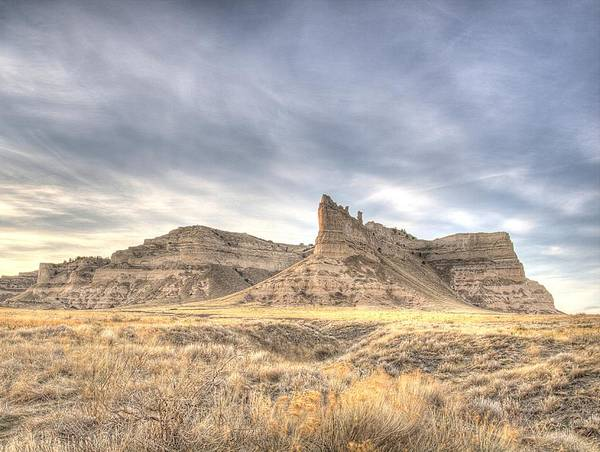 Photograph - Scottsbluff National Monument by HW Kateley