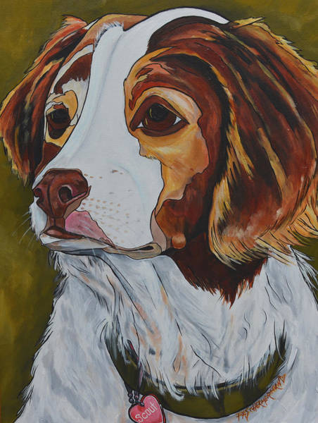 Painting - Scout by Patti Schermerhorn