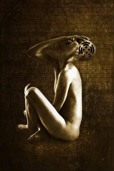 Cyborg Digital Art - Scream by Johan Lilja