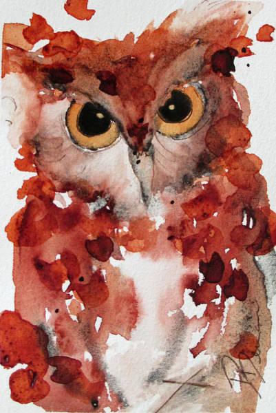 Painting - Screech by Dawn Derman