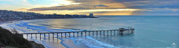 Scripps Pier Photograph - Scripps Pier - To The Point by Russ Harris