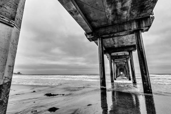 Scripps Pier Photograph - Scripps Pier by Chris Haver