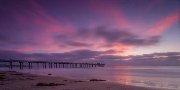 Scripps Pier Photograph - Scripps Pier Colors by Peter Tellone
