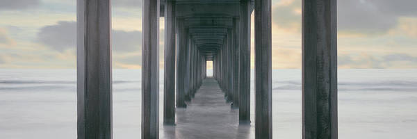 Scripps Pier Photograph - Scripps Pier Into The Pacific Ocean, La by Panoramic Images