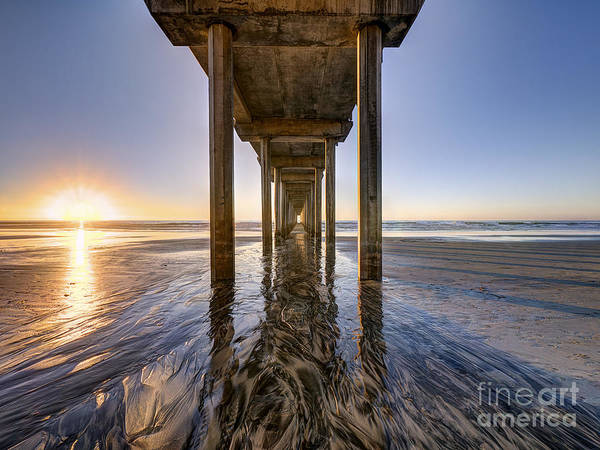 Scripps Pier Photograph - Scripps Pier by Jayson Phillips